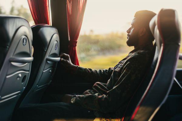segurança no ônibus