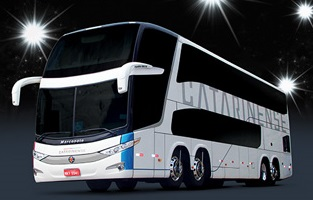 Catarinense investe em nova frota de ônibus