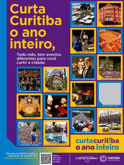 Curta Curitiba o Ano Inteiro