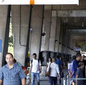 Mudanças no desembarque em Curitiba