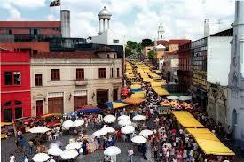 Largo da Ordem, em Curitiba