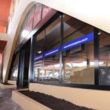 Rodoviária inaugura arcos de vidro
