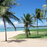 Praia do Cabo Branco em João Pessoa