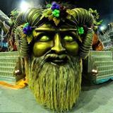 Escola de Samba Beija-flor no Carnaval