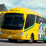 ônibus oficiais das seleções