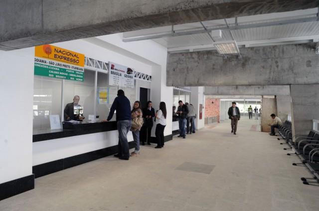 O início das obras no bloco dos fundos trouxe nova alteração no funcionamento da Rodoviária de Curitiba