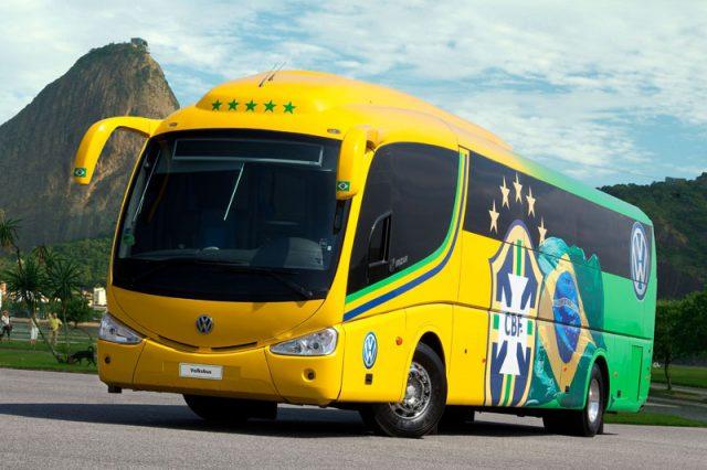 ônibus das seleções