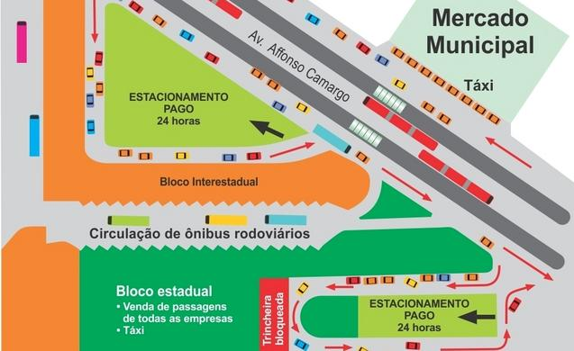 Confira o que muda na Rodoviária e entorno durante a Operação Carnaval