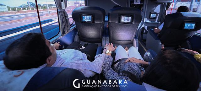Double Decker, conforto e segurança para os passageiros.