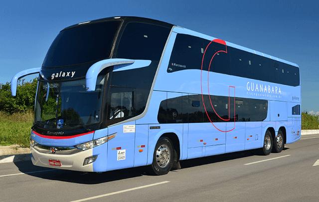 Novos ônibus Double Deckers, frota Guanabara