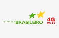 logo viação expresso brasileiro