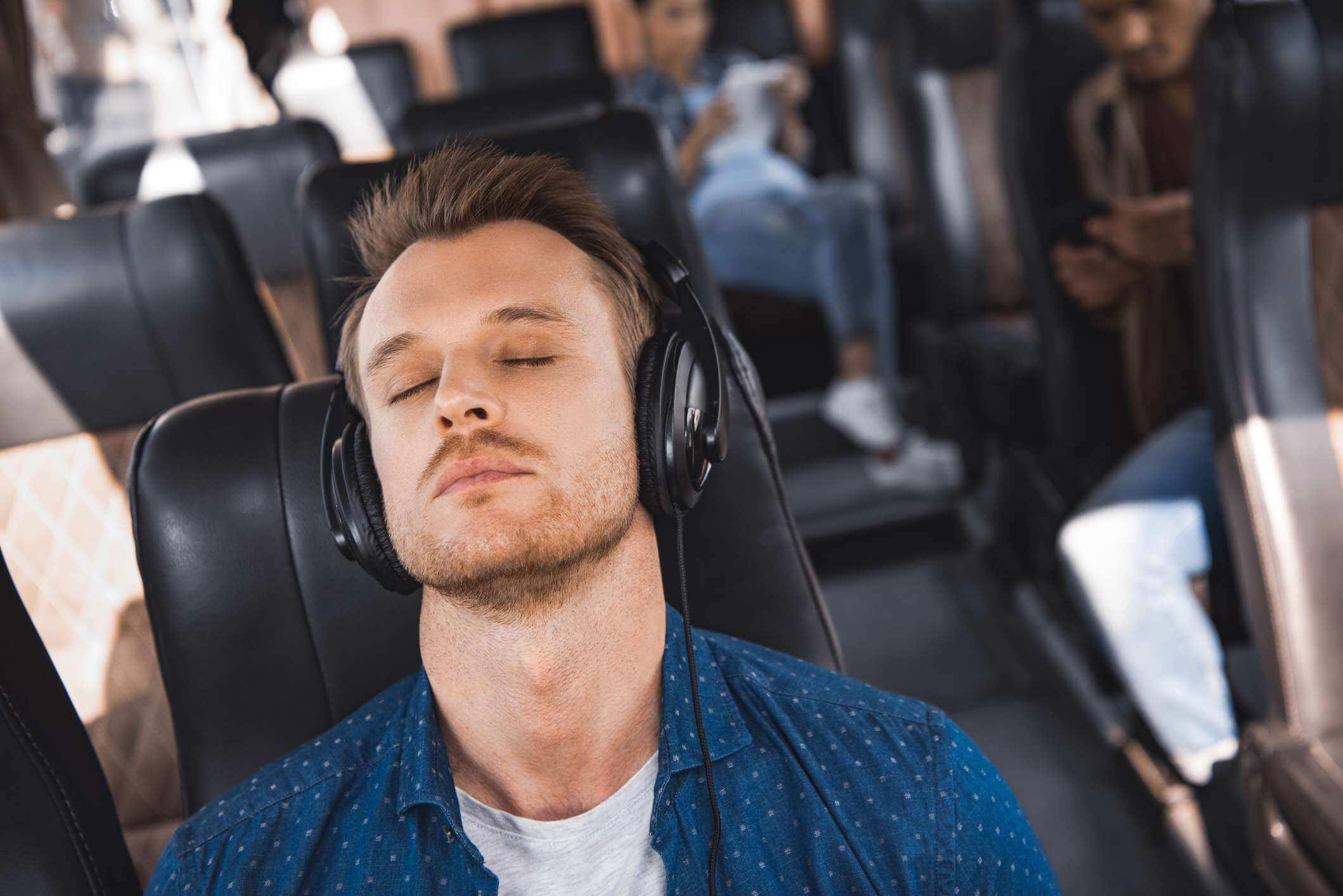 Da até para relaxar e descansar na viagem.