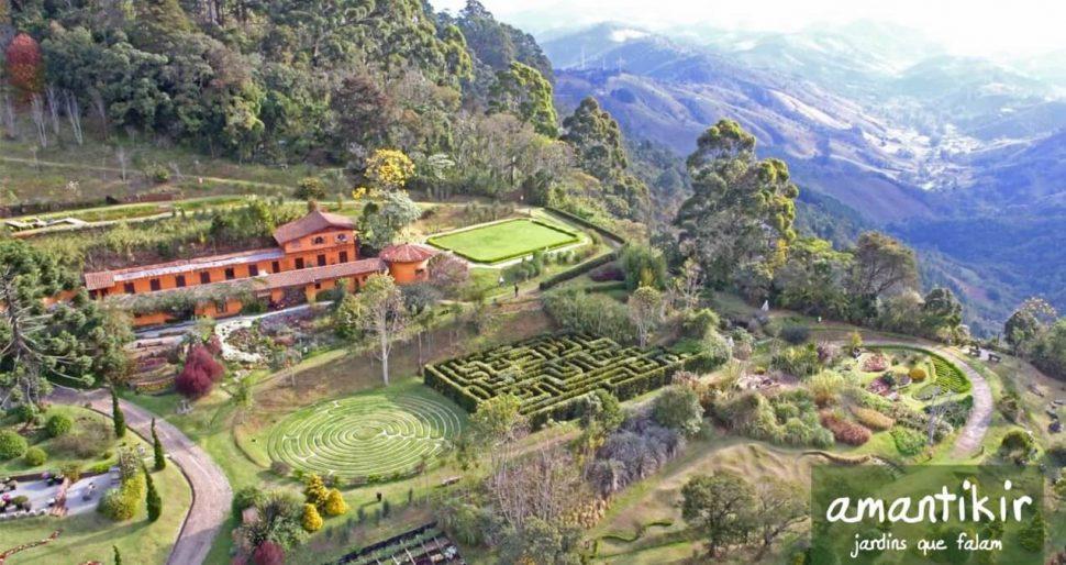 Vista de cima do parque. Foto: divulgação.
