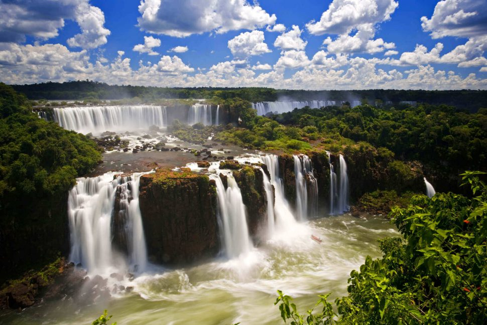 Cataratas do Rio Iguaçú