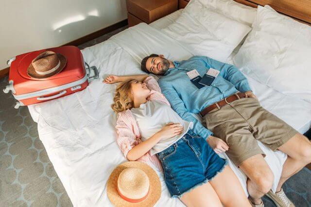 Quanto melhor for o conforto da hospedagem, o relaxamento é certo!