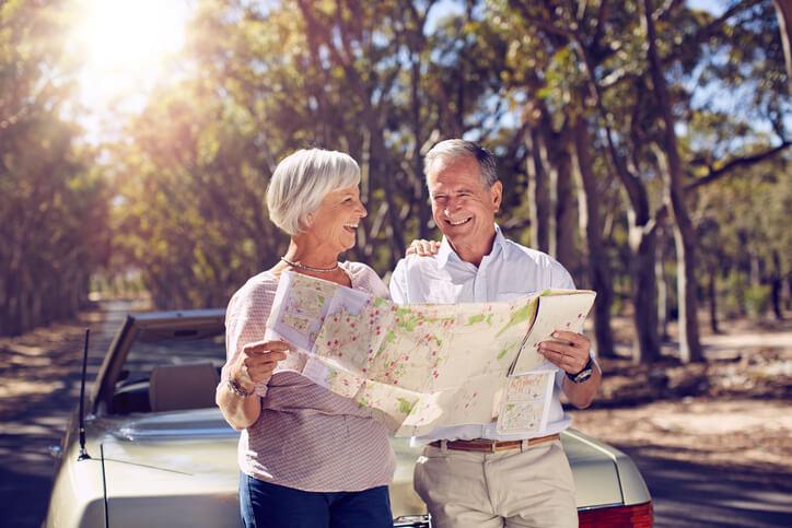 Planejar a rota da viagem é essencial.