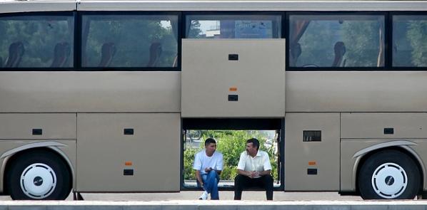 ônibus da viagem mais longa de ônibus do mundo
