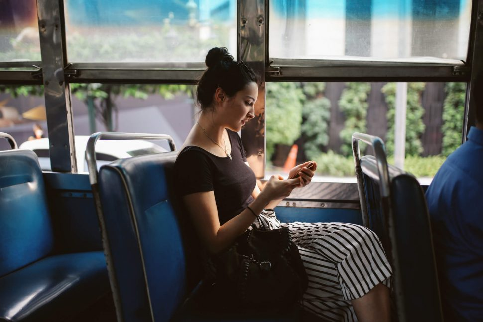 vantagens de viajar de ônibus