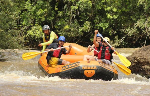 Conheça o turismo da cidade paulista Socorro rafting